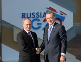 Putin kapıda karşıladı!