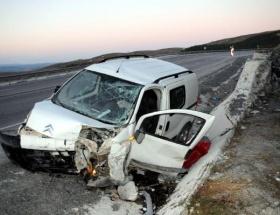 Nevşehirde trafik kazası: 1 ölü, 8 yaralı