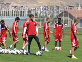Sivassporda hazırlıklar başladı
