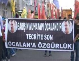 Öcalana özgürlük yürüyüşü!