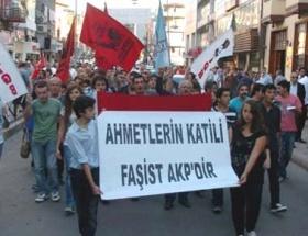 Zonguldakta, Ahmet Atakan protestosu