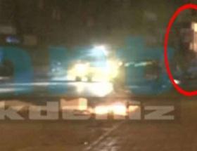 Ahmet Atakanın düşme anı kameralarda