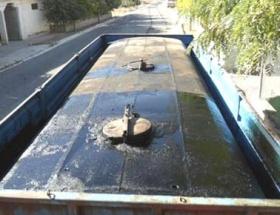 Hilvanda kaçak petrol ele geçirildi