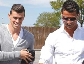 Ronaldo ve Bale buluştu