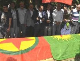 PKKlı cenazesi, BDPlilere teslim edildi