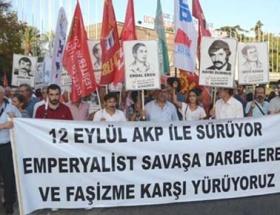 İzmirde 12 Eylül eylemi