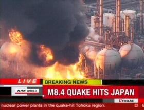 Nükleer tesiste yangın çıktı