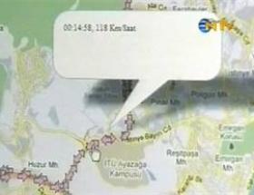 Suikastin GPS kayıdı