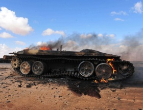 Kaddafi Misratayı bombaladı