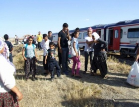 Yozgatta tren kazası: 5 yaralı