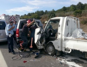 Pendikte trafik kazası