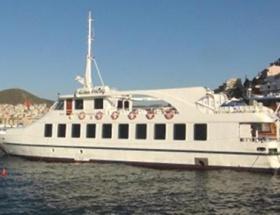 Yunanistanın, el koyduğu feribot bırakıldı
