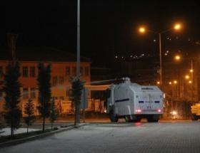 Ankarada olaylı gece