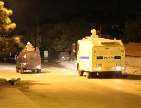 Okmeydanında polis müdahalesi