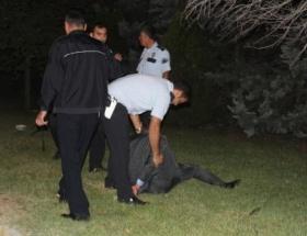 Polislere zor anlar yaşattı