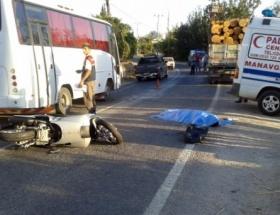 Antalyada trafik kazası: 1 ölü