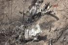 Helikopterin enkazından ilk görüntüler