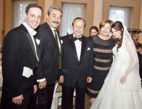 Londrada nikah şahitliği yaptılar