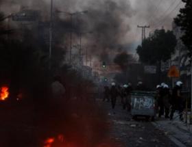 Yunanistanda ırkçılık karşıtı gösterilerde gerginlik