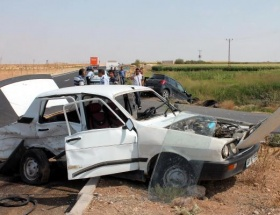 Kızıltepede kaza: 1 ölü
