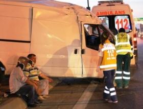 Fatihte kaza: 3 yaralı