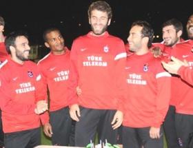 Trabzonsporda doğum günü kutlaması