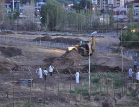 Tünelin tespiti için kazı çalışması yapıldı