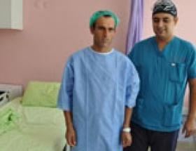 Mardinde ilk lazer ile bel fıtığı ameliyatı