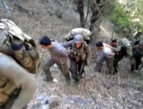 PKKlılar Mardinde araç yaktı