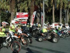 Organ bağışına motosikletli destek turu