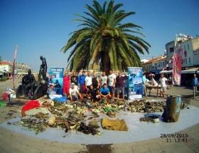 Deniz değil çöplük