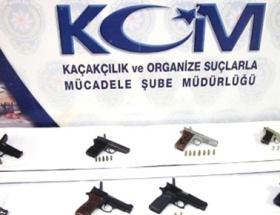 Kaçak tabancaya Van Kedisi şifresi