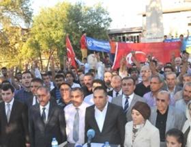 Gaziantep ve Kahramanmaraşta Andımız protestosu
