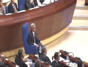 Ermenistan Cumhurbaşkanı AKPMde konuştu