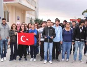Gazi Üniversitesinde Andımız protestosu