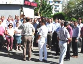 Alanyada Demokratikleşme Paketi protestosu