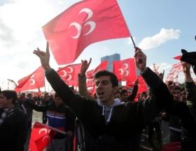 MHPnin seçim bürosu açılışı mitinge dönüştü
