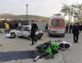 Sancaktepede trafik kazası