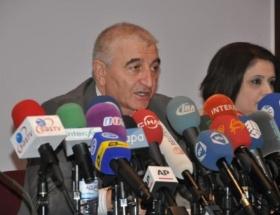 Azerbaycanda basına seçim brifingi