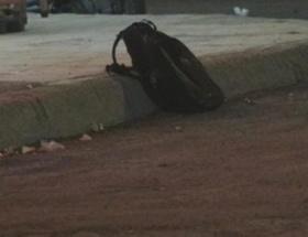 Unutulan çanta bomba paniğine neden oldu