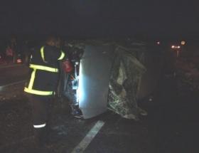 Elazığda trafik kazası: 4 yaralı