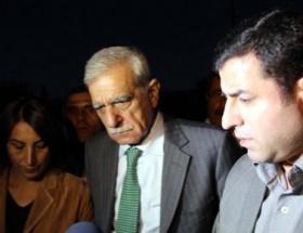 BDP ve DTK heyeti taziyeden döndü