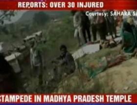 Hindistanda tapınak faciası: 60 ölü