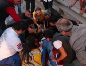 Beyoğlunda trafik kazası