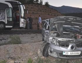 Kütahyada kaza: 2 yaralı