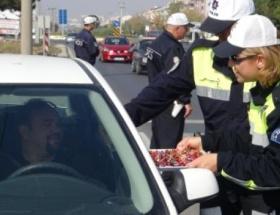 Polisten şekerli kolonyalı uyarı