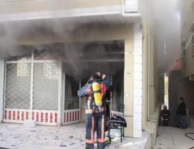 Üsküdarda yangın paniği