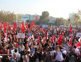 Zonguldakta Cumhuriyet yürüyüşü