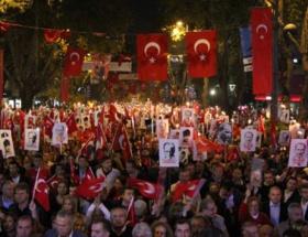 Kadıköyde yüz binler yürüdü