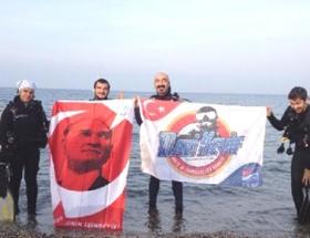 Marmaranın derinliklerinde Cumhuriyet kutlaması